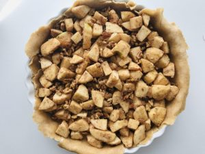 tartă cu mere fără zahăr